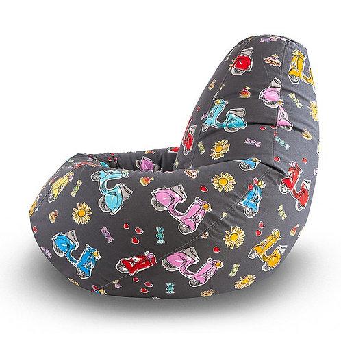 Кресло-Мешок «Мопед»