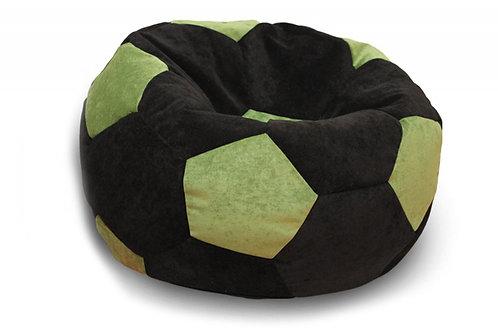 Кресло мяч Футбол «Чёрно-Зелёный »