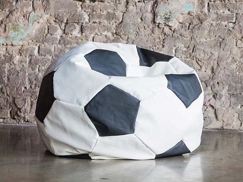 Кресло мяч Футбол «Бело-Чёрный»