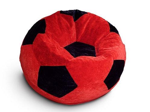 Кресло мяч Футбол «Красно-Чёрный»