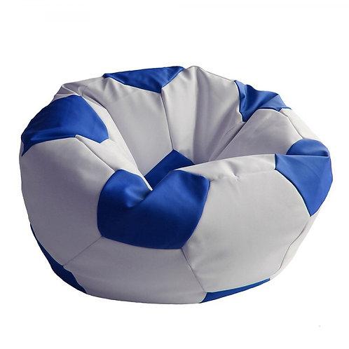 Кресло мяч Футбол «Бело-Синий»