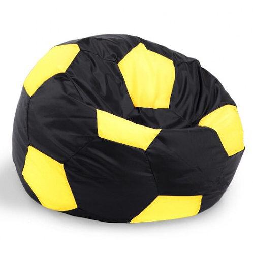 Кресло мяч Студент «Чёрно-Лимонный»