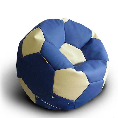 Кресло мяч Футбол «Сине-Белый»