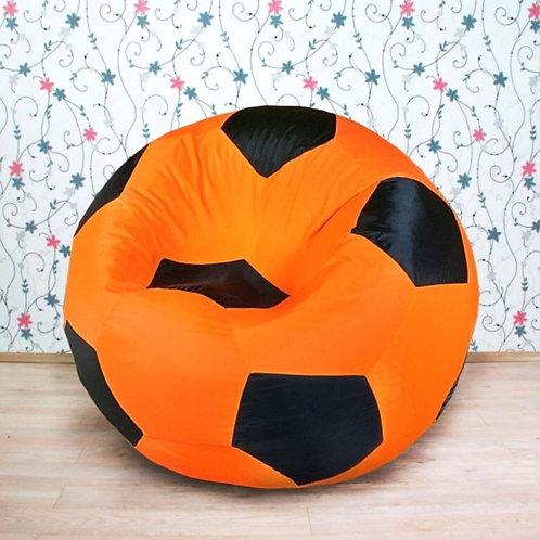Кресло мяч Студент «Оранжево-Чёрный»