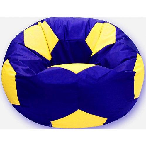 Кресло мяч Студент «Сине-Лимонный»