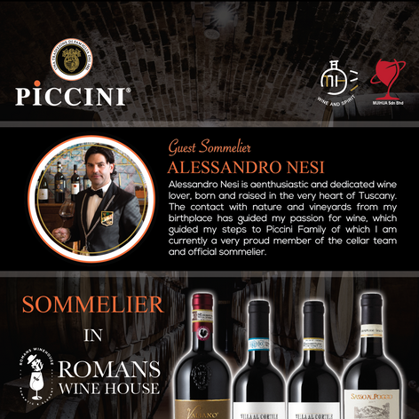 PICCINI Sommelier in The House