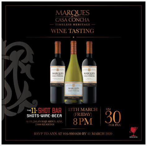 Marques de Casa Concha Wine Tasting