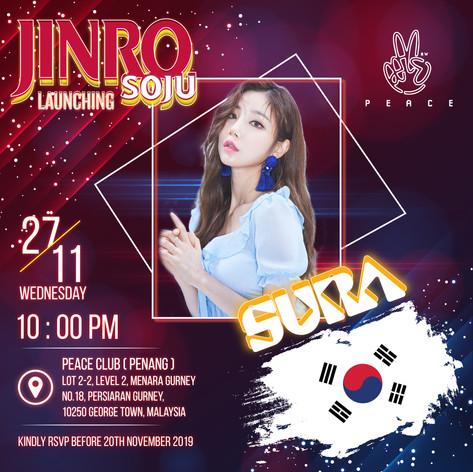 Jinro Soju Launching