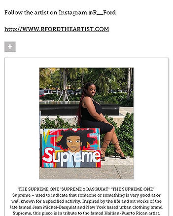 Thank you to _art511mag for a spot on th