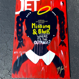 MISSING AND BLACK