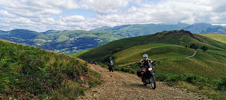 t voyages moto off-road TERRA organise des voyages moto en France, Espagne, Portugal, Maroc, Burkina-Faso,  Côte d'Ivoire et toutes autres destinations sur demande.  pays basque