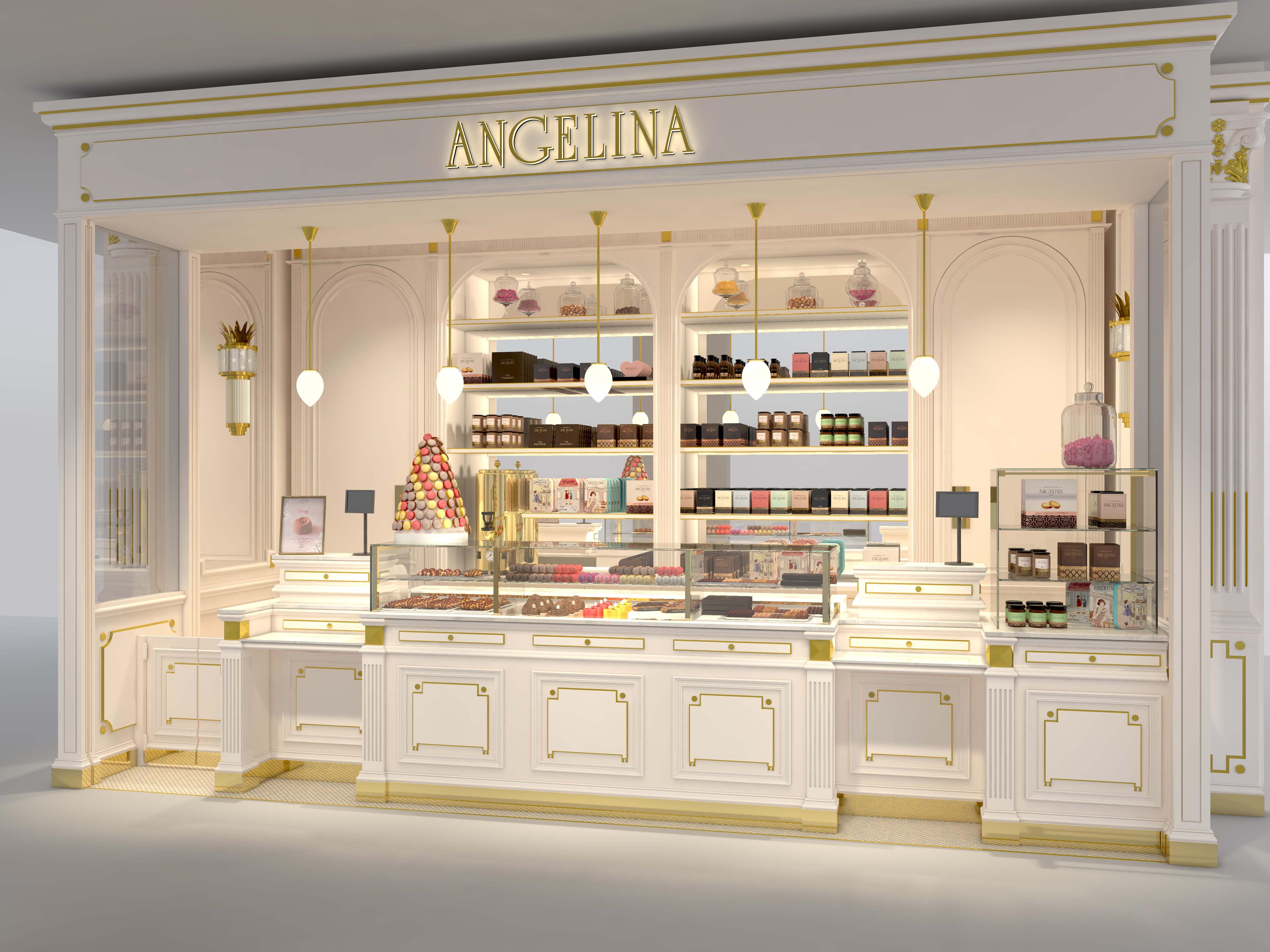 Angelina - Corner de vente Paris