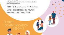 Café Parents - 24/01 - Bibliothèque de Peynier