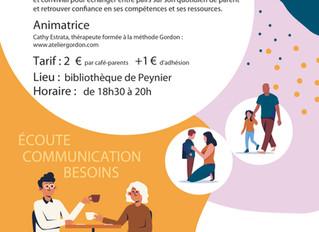 Café Parents - 24/01 - Bibliothèque de Peynier