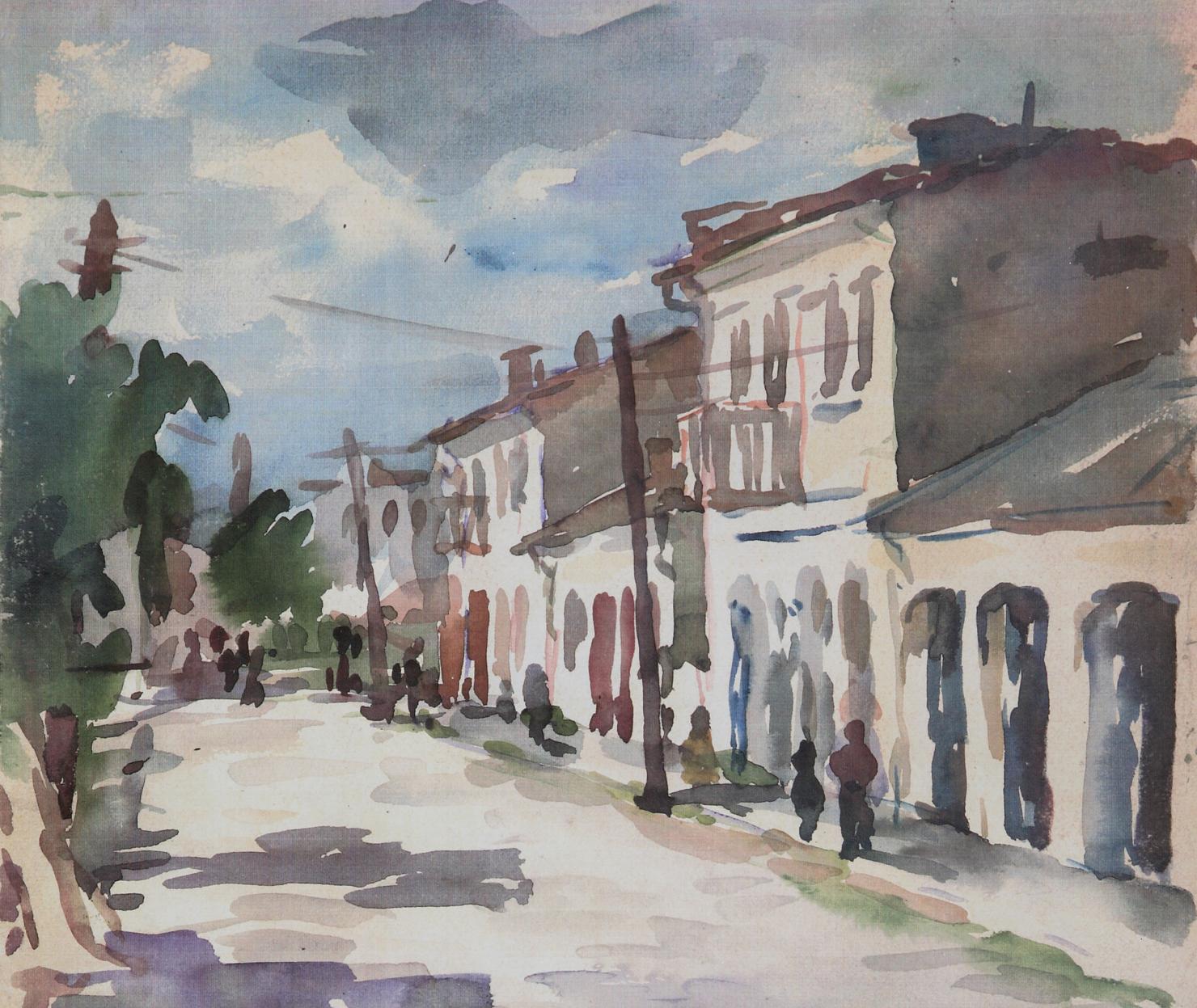 81 Tulcea, Strada cu dughene (3).jpg