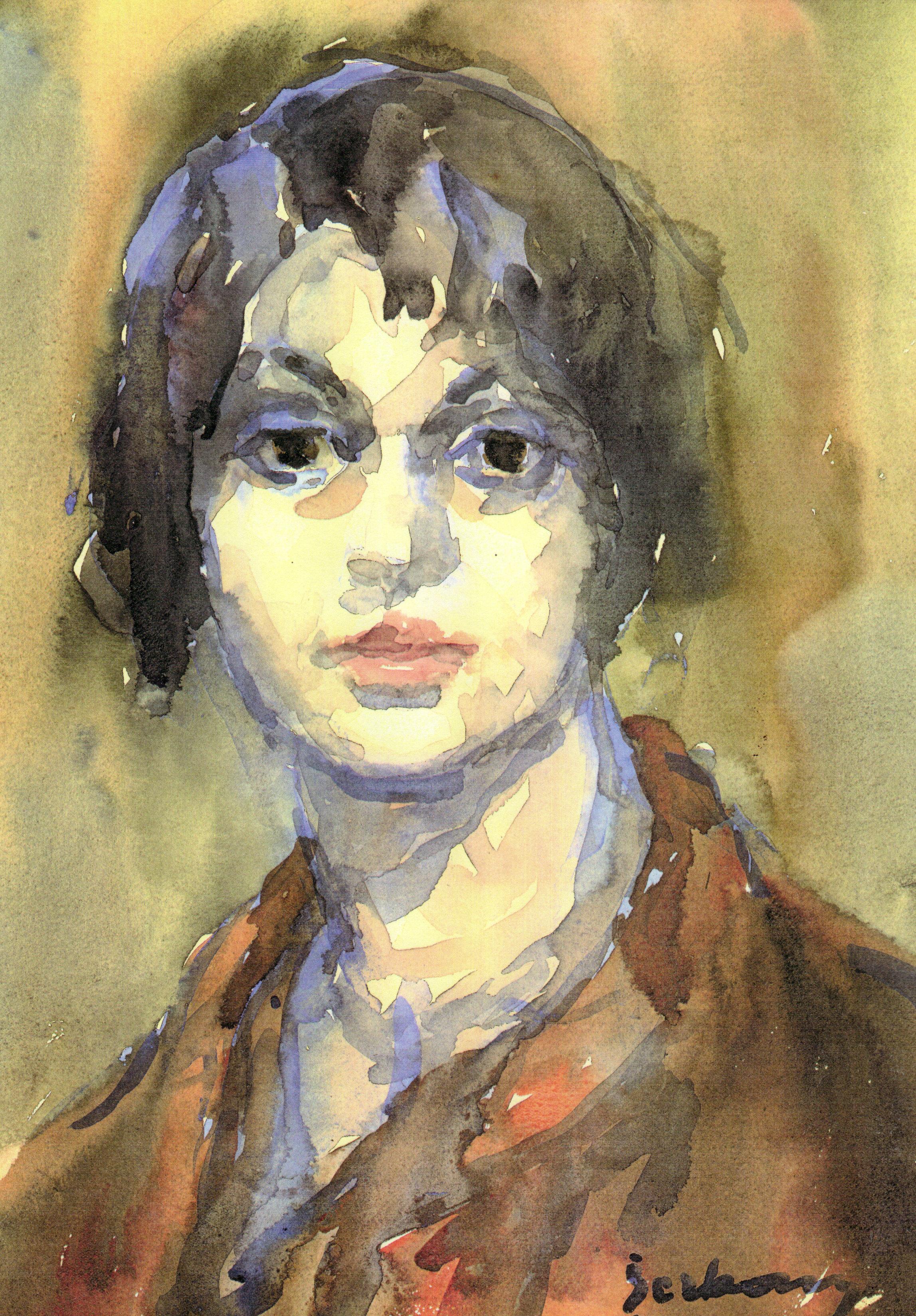 125 Autoportret cu capot rosu.jpg