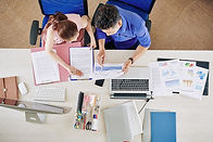 business-team-working-with-reports-SZPX4