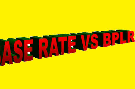 Base rate vs Benchmark Prime Lending Rate (BPLR)