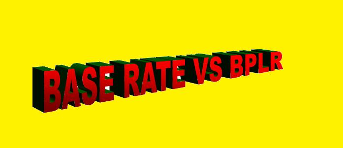 Base rate vs BPLR