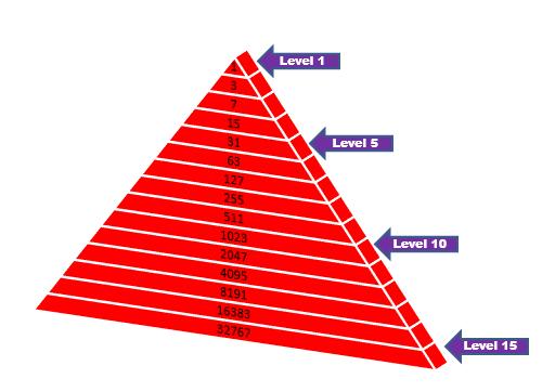 How does Pyramid  Scheme work ?