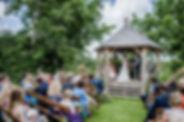 outdoor wedding camarthenshire