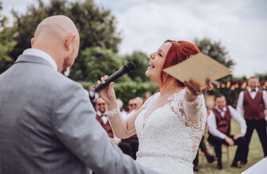 Wedding at Zinnia Gardens, Banstead