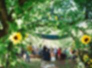 outdoor wedding devon