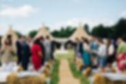 outdoor wedding surrey
