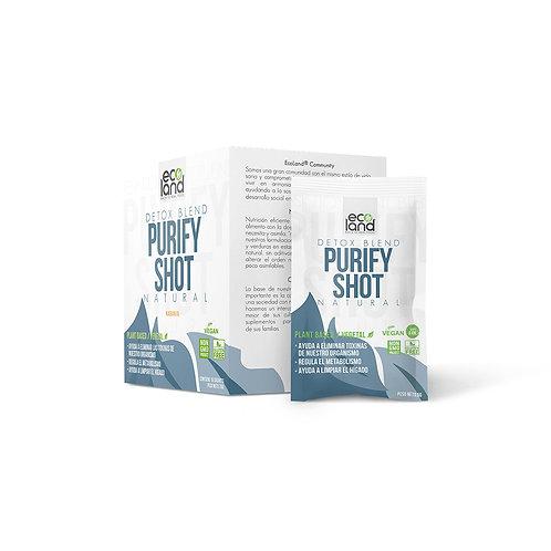 Purify Shot - Ecoland .Caja de 15 Sachets / 5g c/u