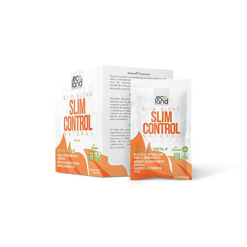 Slim Control Shot - Ecoland . Caja de 15 Sachets / 5g c/u