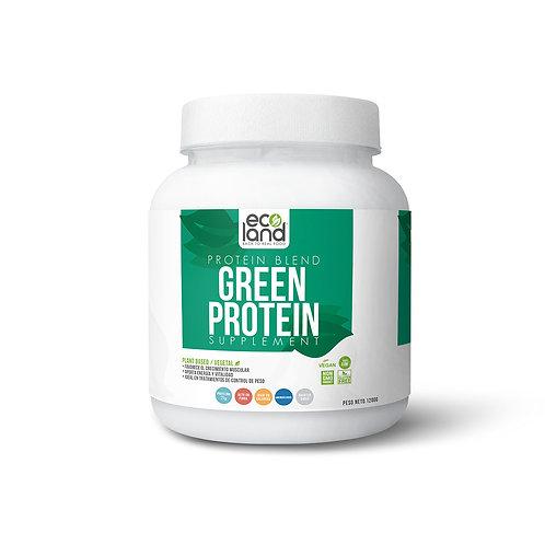 Green Protein - Ecoland .Pomo de 1200g / 26-27 Porciones