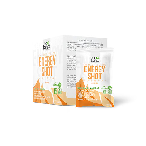 Energy Shot - Ecoland .Caja de 15 Sachets / 5g c/u