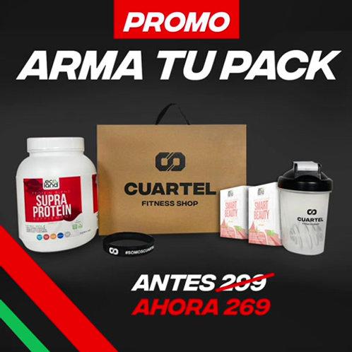ARMA TU PACK: Proteína + Suplementos