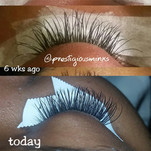 Before & After (Lash Growth)