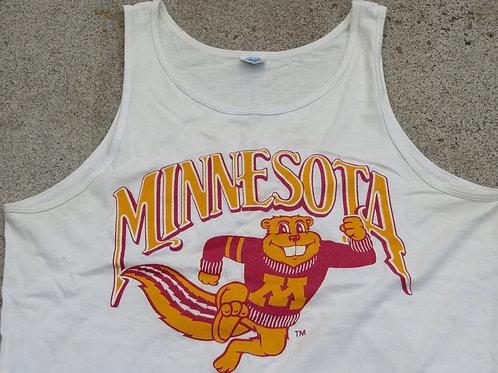 Vintage University of Minnesota gopher tank tee