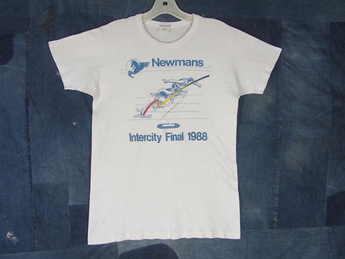 Vintage 80s track and field tee Newman's