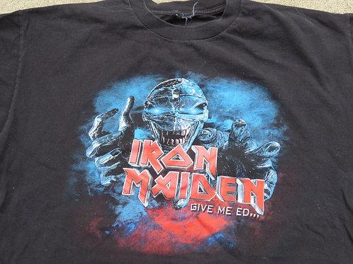 Vintage Iron Maiden Tee Give Me Ed 2003 Tour
