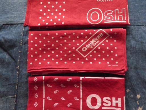 Vintage OshKosh Bandana Timeline