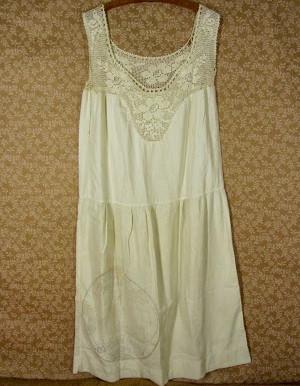 Vintage Feed Sack Nightgown