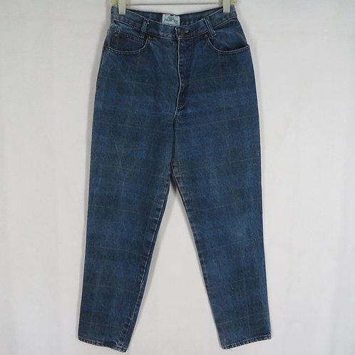 Vintage plaid 80s jeans by Palmettos