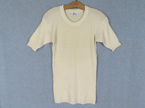 Vintage Ermenegildo Zegna Wool Tee Undershirt Italy XS