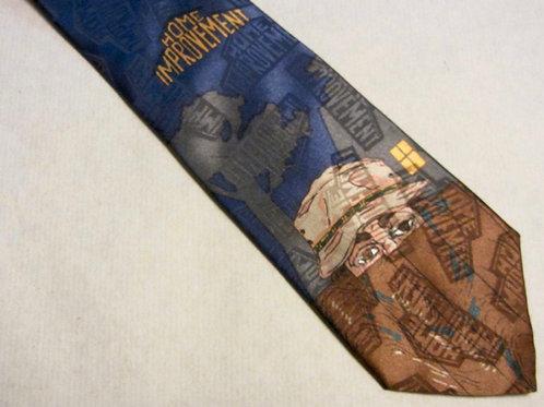 Vintage Home Improvement Necktie Wilson Tie USA
