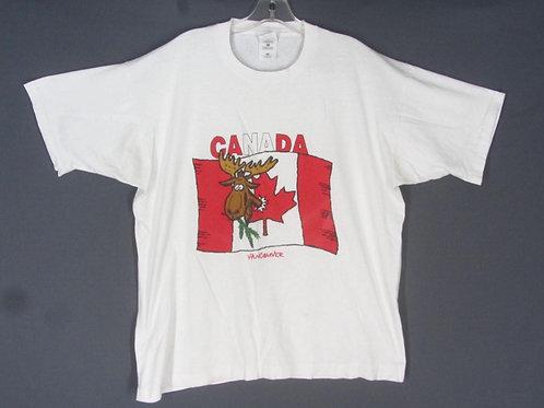 Vintage Vancouver Canada Souvenir Tee Shirt XL