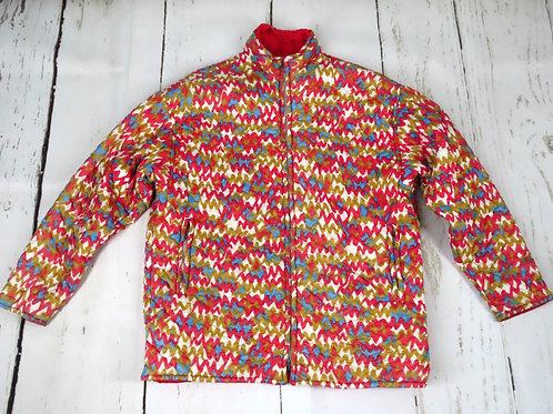 Vintage Sportcaster reversible ski jacket