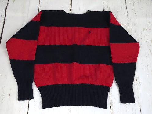 Vintage Polo Ralph Lauren rugged wool stripe sweater