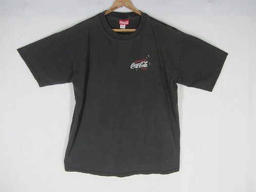 Vintage black Coke tee shirt from the 90s