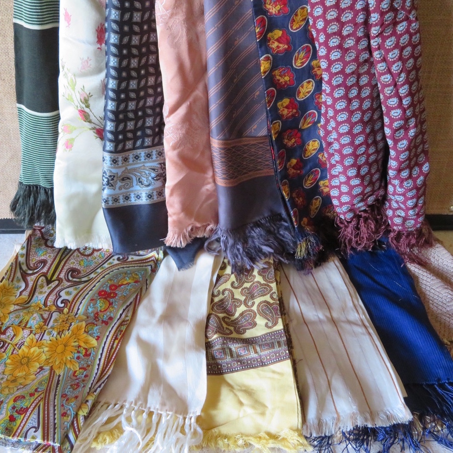formal scarves and ascots