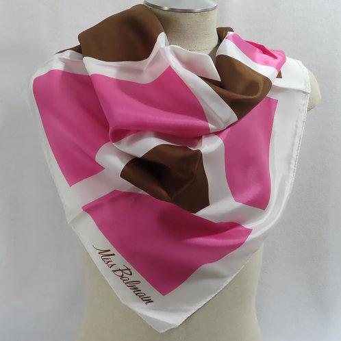 vintage pierre balmain scarf on mannequin
