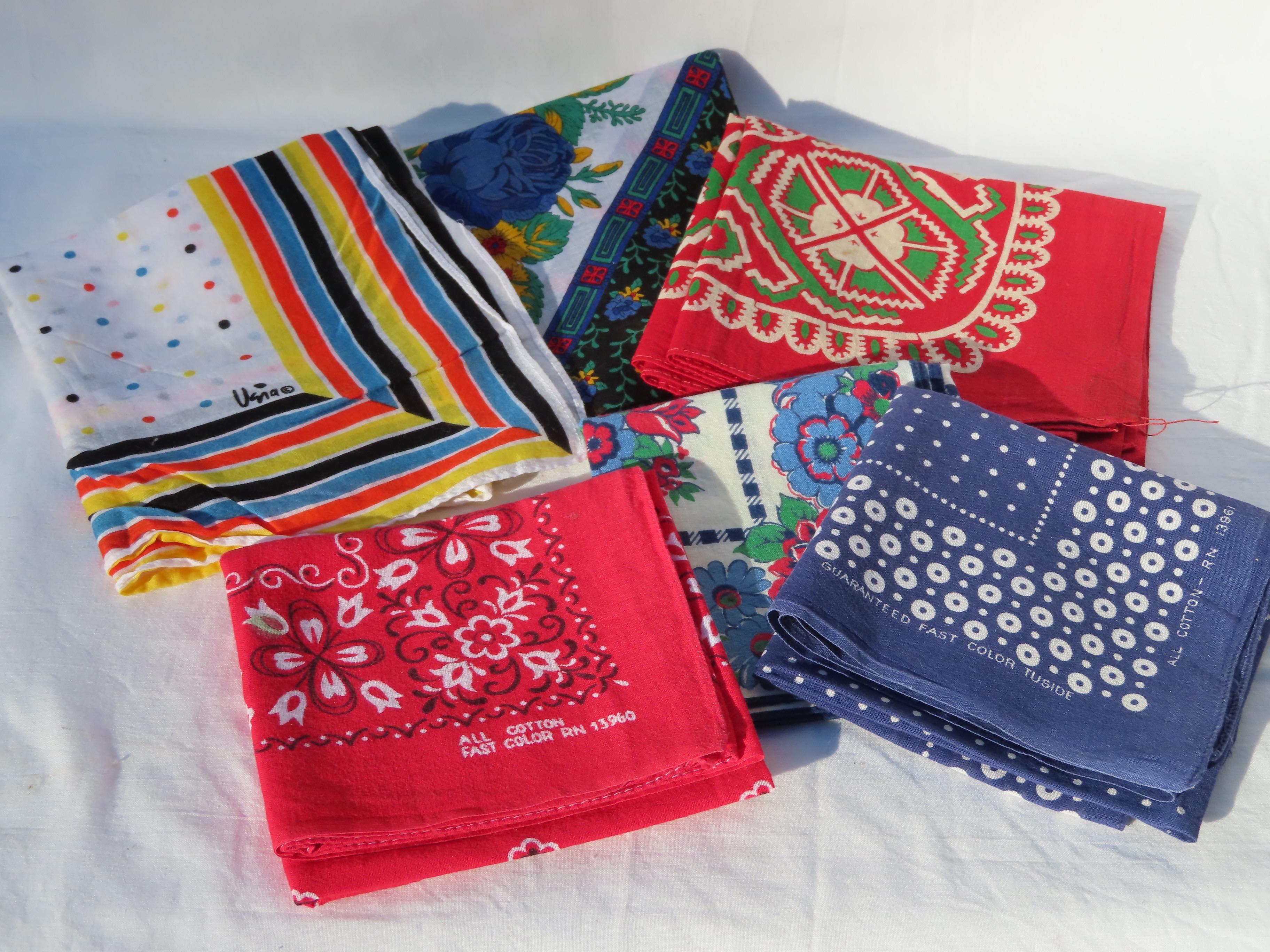 bandana cotton scarves