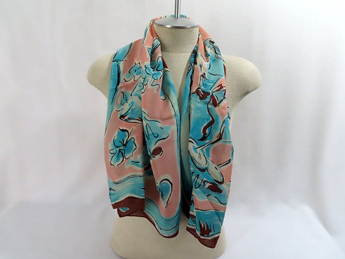 Vintage Dance Party Theme Scarf